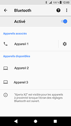 Sony Xperia XZ - Android Oreo - Bluetooth - connexion Bluetooth - Étape 11