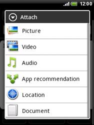 HTC A3333 Wildfire - E-mail - Sending emails - Step 10