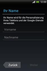 HTC A320e Desire C - Apps - Konto anlegen und einrichten - Schritt 5