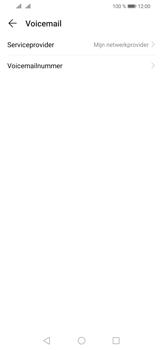 Huawei P30 Lite - Voicemail - handmatig instellen - Stap 8
