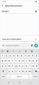 Samsung Galaxy A50 - MMS - Erstellen und senden - Schritt 15