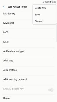 Samsung Samsung G928 Galaxy S6 Edge + (Android N) - MMS - Manual configuration - Step 14