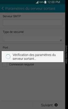 Samsung Galaxy Note Edge - E-mail - configuration manuelle - Étape 15