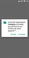 Alcatel 1X - Contact, Appels, SMS/MMS - Ajouter un contact - Étape 4