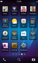 BlackBerry Z10 - WLAN - Manuelle Konfiguration - Schritt 3