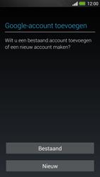 HTC One - Applicaties - Account instellen - Stap 4