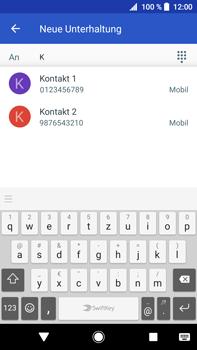 Sony Xperia XA2 Ultra - MMS - Erstellen und senden - 8 / 21