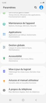 Samsung Galaxy S20 FE - Applications - Supprimer une application - Étape 4