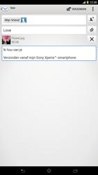 Sony C6833 Xperia Z Ultra LTE - E-mail - hoe te versturen - Stap 14