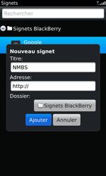 BlackBerry 9860 Torch - Internet - navigation sur Internet - Étape 9