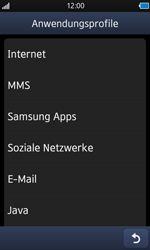 Samsung Wave - Internet - Apn-Einstellungen - 0 / 0