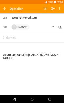 Alcatel Pixi 3 (8) - E-mail - E-mail versturen - Stap 8