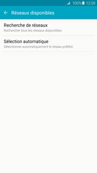 Samsung Galaxy S6 edge+ (G928F) - Réseau - Sélection manuelle du réseau - Étape 6