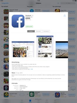 Apple iPad Pro 12.9 inch met iOS9 (Model A1652) - Applicaties - Account aanmaken - Stap 6