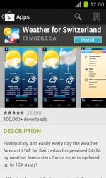 Samsung Galaxy S II - Applications - Installing applications - Step 14