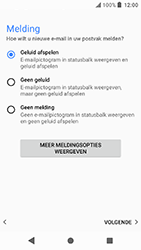 Sony Xperia X Compact (F5321) - Android Oreo - E-mail - Handmatig instellen (outlook) - Stap 15