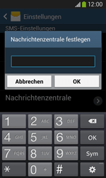 Samsung Galaxy Core Plus - SMS - Manuelle Konfiguration - 7 / 9