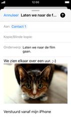 Apple iPhone SE - iOS 13 - E-mail - e-mail versturen - Stap 14