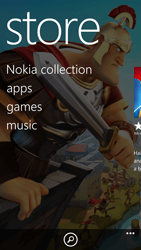 Nokia Lumia 1320 - Applications - Setting up the application store - Step 4