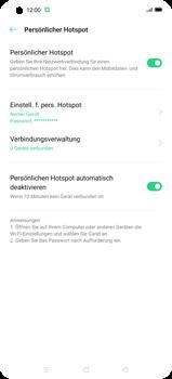 Oppo Find X2 Pro - WiFi - So aktivieren Sie einen WLAN-Hotspot - Schritt 12