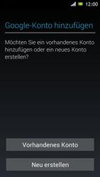 Sony Xperia J - Apps - Einrichten des App Stores - Schritt 4