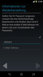 Sony Xperia Z1 - Apps - Konto anlegen und einrichten - Schritt 14