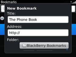 BlackBerry 9360 Curve - Internet - Internet browsing - Step 8