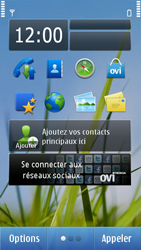 Nokia N8-00 - Internet - configuration automatique - Étape 1