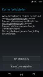 Sony Xperia Z3 Compact - Apps - Einrichten des App Stores - Schritt 15