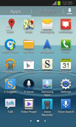 Samsung Galaxy Express - Applications - Setting up the application store - Step 3