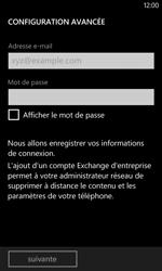 Nokia Lumia 625 - E-mails - Ajouter ou modifier un compte e-mail - Étape 8