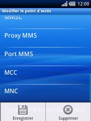 Sony Xperia X10 Mini - MMS - Configuration manuelle - Étape 11