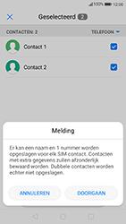 Huawei p10-met-android-oreo-model-vtr-l09 - Contacten en data - Contacten kopiëren van toestel naar SIM - Stap 8
