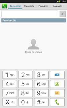Samsung N5100 Galaxy Note 8-0 - Anrufe - Rufumleitungen setzen und löschen - Schritt 4