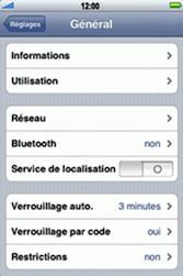 Apple iPhone 3G - Internet - configuration manuelle - Étape 5