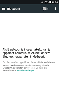 HTC U11 - Bluetooth - headset, carkit verbinding - Stap 5