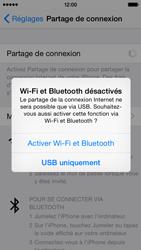 Apple iPhone 5 (iOS 8) - Internet et connexion - Partager votre connexion en Wi-Fi - Étape 6