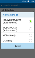 Samsung G388F Galaxy Xcover 3 - Network - Change networkmode - Step 8