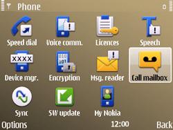 Nokia E72 - Voicemail - Manual configuration - Step 5