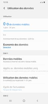 Samsung Galaxy A20e - Internet et connexion - Désactiver la connexion Internet - Étape 7