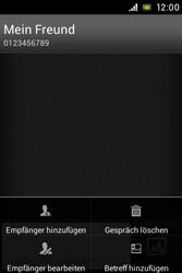 Sony Xperia E - MMS - Erstellen und senden - Schritt 12