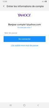 Samsung Galaxy A80 - E-mails - Ajouter ou modifier votre compte Yahoo - Étape 8