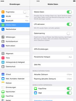 Apple iPad mini iOS 7 - Netzwerk - Netzwerkeinstellungen ändern - Schritt 5