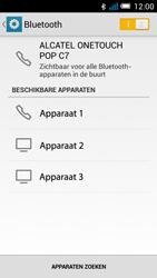 Alcatel OT-7041X Pop C7 - bluetooth - aanzetten - stap 7
