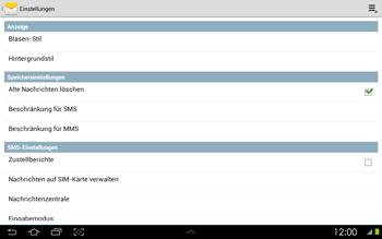 Samsung P5100 Galaxy Tab 2 10-1 - SMS - Manuelle Konfiguration - Schritt 5