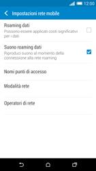 HTC One M8 - Rete - Selezione manuale della rete - Fase 5