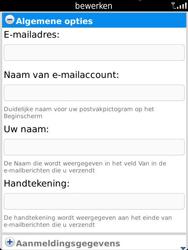 BlackBerry 9810 Torch - E-mail - Handmatig instellen - Stap 14