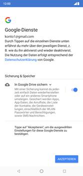 Nokia 6.1 Plus - Apps - Konto anlegen und einrichten - 17 / 19