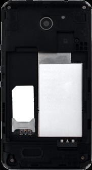 Sony Xperia E1 - SIM-Karte - Einlegen - 6 / 12