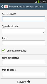 Samsung Galaxy Note 3 - E-mails - Ajouter ou modifier un compte e-mail - Étape 12